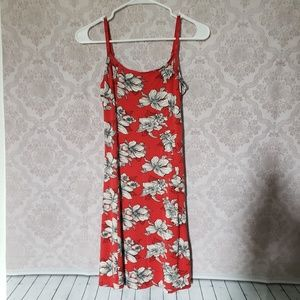 Asos floral spaghetti strap mini summer dress
